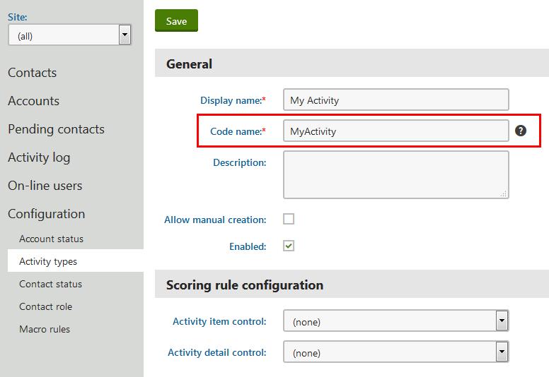 logging custom activities through the api kentico 10 documentationnew activity type
