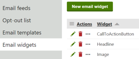 Preparing Email Widgets Kentico 11 Documentation