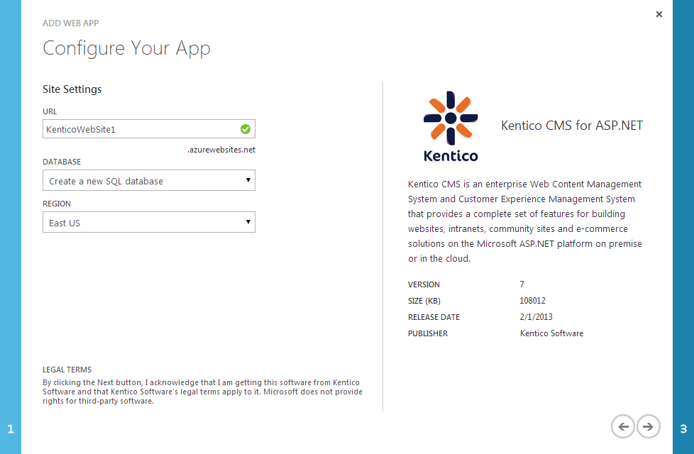 Microsoft Azure Web Apps | Kentico 8 2 Documentation